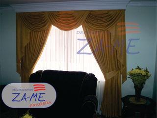 Decoraciones ZA-ME Windows & doors Curtains & drapes Textile White