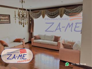 Decoraciones ZA-ME Windows & doors Curtains & drapes Cotton Beige