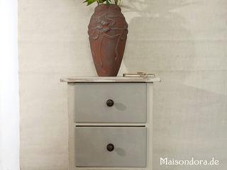 Maisondora Vintage Living HuishoudenOpbergen Hout Beige