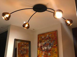 Luminosa ™ فنادق النحاس / برونزية / نحاس Metallic/Silver