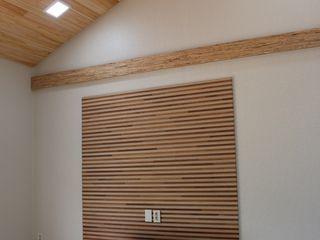 나무집협동조합 Salas de estilo moderno