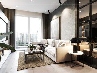 ICON INTERIOR Salas de estilo industrial