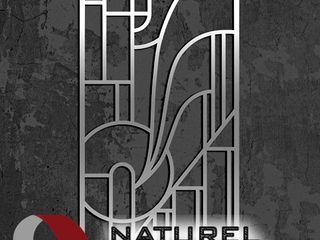 NATUREL METAL FERFORJE Oficinas y tiendas de estilo moderno Metal Negro
