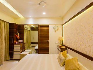 Olive Interiors 臥室床與床頭櫃