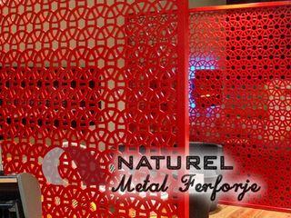 NATUREL METAL FERFORJE Oficinas y tiendas Metal Rojo