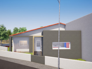 Escala Absoluta 現代房屋設計點子、靈感 & 圖片