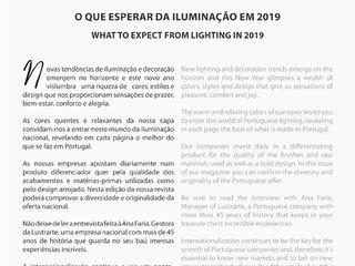 PORTUGUESE LIGHTING NETWORK MAGAZINE – Issue 10 LUZZA by AIPI - Portuguese Lighting Association CasaAcessórios e Decoração