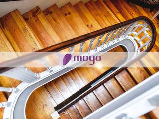 Restaurante - O Caçula MOYO Concept Espaços de restauração eclécticos Madeira maciça Acabamento em madeira