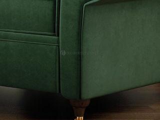 Decordesign Interiores ВітальняДивани та крісла Текстильна Зелений