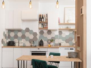 Chez Sophie et Morgan Camille BASSE, Architecte d'intérieur Cuisine moderne