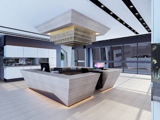 ANTE MİMARLIK Modern office buildings
