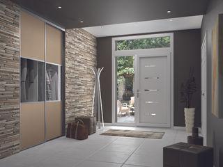 Ambiance Transparence Kazed Couloir, entrée, escaliersCommodes & étagères Faux cuir Transparent