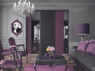 Ambiance Ultraviolet Kazed SalonPlacards & Buffet Panneau d'aggloméré Violet