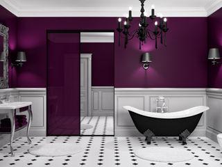 Ambiance Ultraviolet Kazed Salle de bainRangements Panneau d'aggloméré Violet