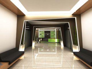 ANTE MİMARLIK Modern hotels Green
