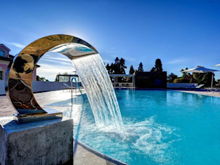 Castello dal Pozzo - Albergo 5 Stelle Mirani Sas Giardino con piscina Bianco