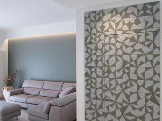 Interior nelle Murge B+P architetti Ingresso, Corridoio & Scale in stile moderno