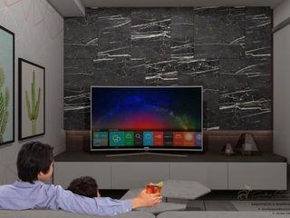 CG Diseño Ruang Media Modern