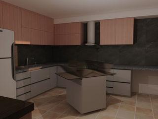 CG Diseño Unit dapur Kayu
