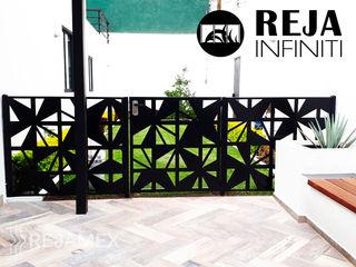 Rejamex Garden Shed Metal Black