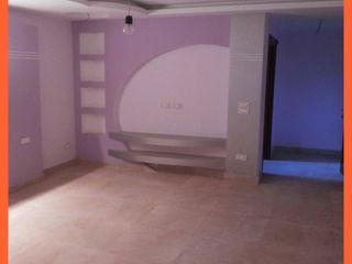 كاسل للإستشارات الهندسية وأعمال الديكور والتشطيبات العامة Small bedroom Ceramic Blue