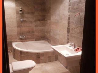 كاسل للإستشارات الهندسية وأعمال الديكور والتشطيبات العامة BathroomDecoration Ceramic Brown