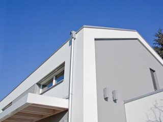 Villa moderna in legno a Meda (Monza Brianza) Marlegno Villa Legno Bianco