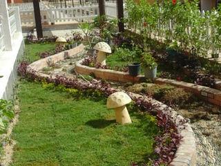 akary Garden Accessories & decoration Tiles White