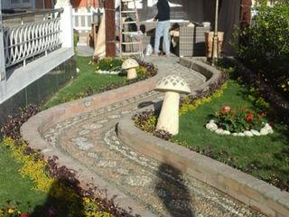 akary Garden Greenhouses & pavilions Tiles Grey