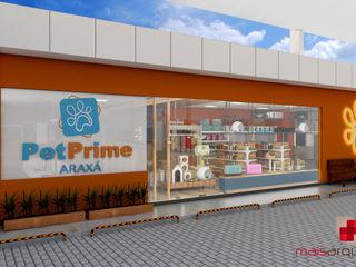 Mais Arquitetura 34 Modern commercial spaces Glass Orange