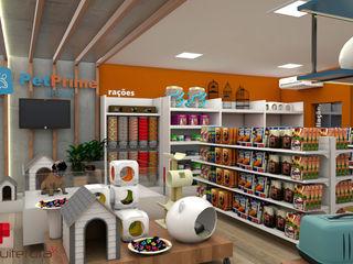 Mais Arquitetura 34 Modern commercial spaces MDF Orange