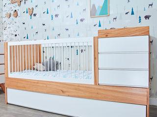 Cuna funcional Ava Minihaus Kids Dormitorios infantiles Camas y cunas Madera Acabado en madera