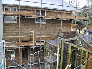 Newquay Zoo - Facilities & Staff Room Building With Frames Single family home Wood