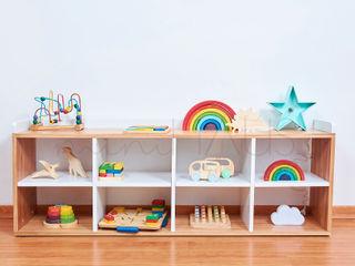Comoda Montessori Minihaus Kids Dormitorios infantiles Placares y cómodas Madera Acabado en madera