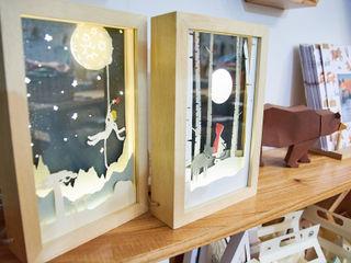 Minihaus Kids 嬰兒/兒童房照明 木頭 Wood effect