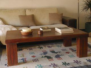 Naturalis Muebles Ecológicos 客廳邊桌與托盤 實木 Wood effect