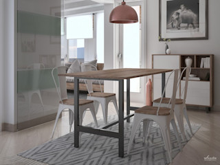 Santoro Design Render Comedores modernos