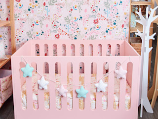 Minihaus Kids 嬰兒/兒童房床具與床鋪 木頭 Pink