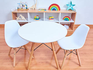 Minihaus Kids 嬰兒/兒童房桌椅 塑膠 White