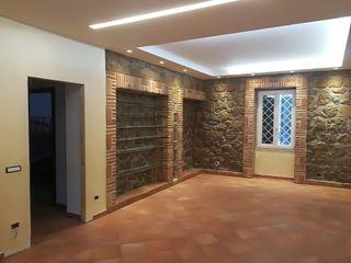 Appartamento stile rurale moderno Omnia Multiservizi - Roma Invest Soggiorno rurale