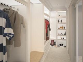 Ground 11 Architects Modern Dressing Room