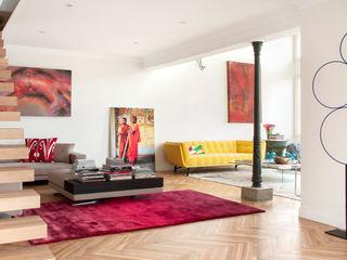 109. PENTHOUSE IN ST JOAN Abrils Studio Salones de estilo moderno