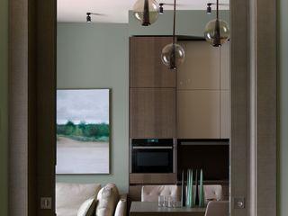 Дизайн бюро Татьяны Алениной Salas de estilo moderno