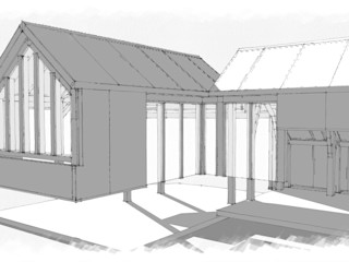 Padstow - Concept Drawings Building With Frames Wooden houses Wood
