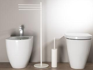 Uno showroom dedicato all'arredamento da bagno Idearredobagno.it Bagno moderno Rame / Bronzo / Ottone