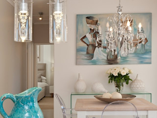 Overberg Interiors Eclectic style dining room