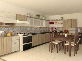 Wendely Barbosa - Designer de Interiores Küçük Mutfak