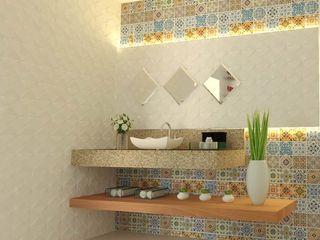 Wendely Barbosa - Designer de Interiores Modern Banyo
