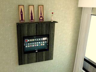 Wendely Barbosa - Designer de Interiores Küçük Yatak Odası