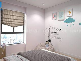 Designer Công ty Cổ Phần Nội Thất Mạnh Hệ BedroomBeds & headboards OSB Grey